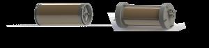 Portamembrana para sistemas compactos de filtración de agua por gravedad con membranas recicladas